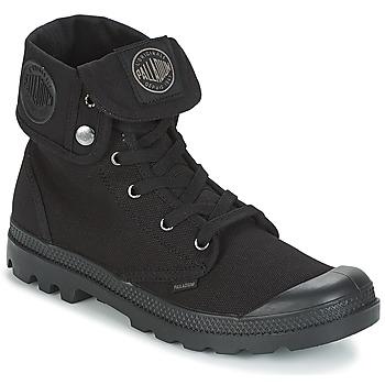 Topánky Muži Polokozačky Palladium BAGGY Čierna