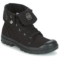 Topánky Ženy Polokozačky Palladium BAGGY Čierna