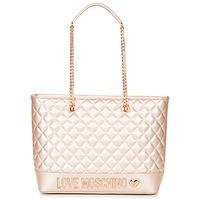 Tašky Ženy Veľké nákupné tašky  Love Moschino JC4003PP15 Ružová / Zlatá