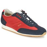 Topánky Muži Nízke tenisky Hugo Boss Orange ORLANDO LOW PROFILE červená / Námornícka modrá