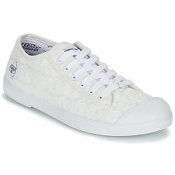 Topánky Ženy Nízke tenisky Le Temps des Cerises BASIC 02 Biela