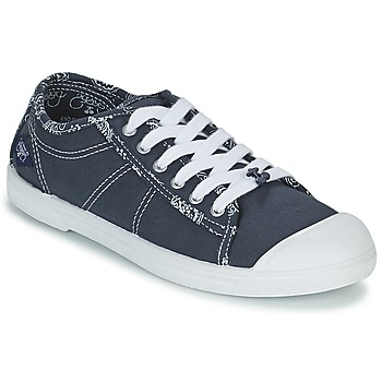 Topánky Ženy Nízke tenisky Le Temps des Cerises BASIC 02 Modrá