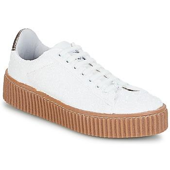 Topánky Ženy Nízke tenisky Le Temps des Cerises TALYS Biela