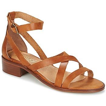 Topánky Ženy Sandále Casual Attitude COUTIL Hnedá