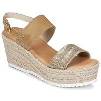 Topánky Ženy Sandále Casual Attitude INUIL Zlatá / Hnedá