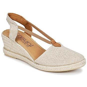 Topánky Ženy Sandále Casual Attitude IPOP Zlatá