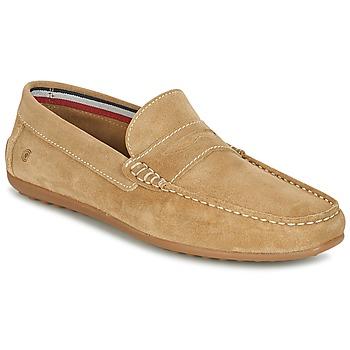 Topánky Muži Mokasíny Casual Attitude IMOPO Béžová