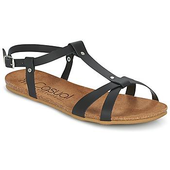Topánky Ženy Sandále Casual Attitude IPLEM Čierna