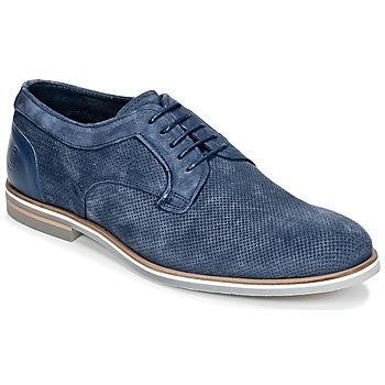 Topánky Muži Derbie Casual Attitude IQERQE Modrá