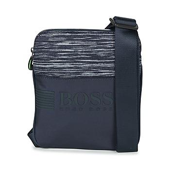 Tašky Muži Vrecúška a malé kabelky Hugo Boss Green PIXEL K S ZIP Námornícka modrá