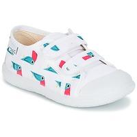 Topánky Dievčatá Nízke tenisky Citrouille et Compagnie GLASSIA Biela