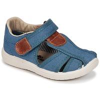 Topánky Chlapci Sandále Citrouille et Compagnie GUNCAL Modrá