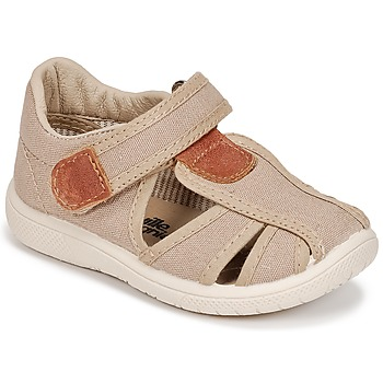 Topánky Chlapci Sandále Citrouille et Compagnie GUNCAL Béžová