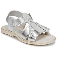 Topánky Dievčatá Sandále Citrouille et Compagnie INAPLATA Strieborná