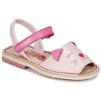 Topánky Dievčatá Sandále Citrouille et Compagnie ILOUDFI Ružová