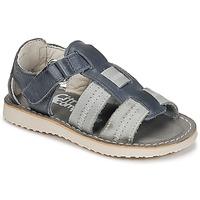Topánky Chlapci Sandále Citrouille et Compagnie IOUTIKER Modrá / Šedá