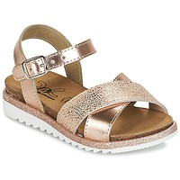 Topánky Dievčatá Sandále Citrouille et Compagnie GAUFRETTE Bronzová