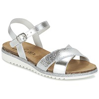 Topánky Dievčatá Sandále Citrouille et Compagnie GAUFRETTE Strieborná