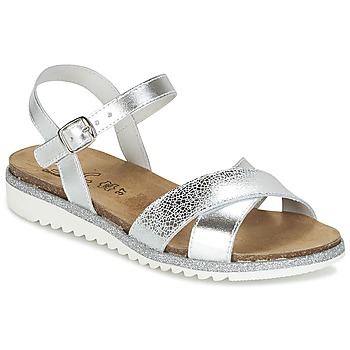 Topánky Dievčatá Sandále Citrouille et Compagnie IZOEGL Strieborná
