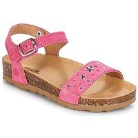 Topánky Dievčatá Sandále Citrouille et Compagnie IHITO Ružová