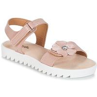 Topánky Dievčatá Sandále Citrouille et Compagnie ILODO Ružová