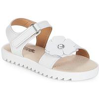 Topánky Dievčatá Sandále Citrouille et Compagnie ILODO Biela