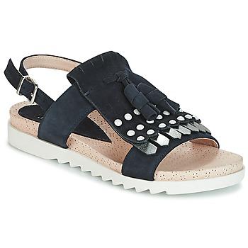 Topánky Ženy Sandále Elue par nous CHACAL Námornícka modrá
