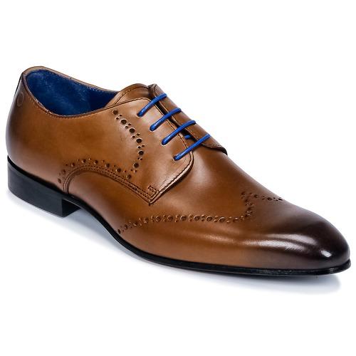 Topánky Muži Derbie Carlington FRUTO Hnedá