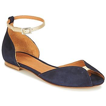 Topánky Ženy Sandále Emma Go JULIETTE Námornícka modrá / Zlatá