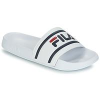 Topánky Muži športové šľapky Fila MORRO BAY SLIPPER Biela
