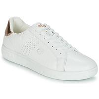 Topánky Ženy Nízke tenisky Fila CROSSCOURT 2 F LOW WMN Biela / Ružová / Zlatá