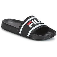 Topánky Ženy športové šľapky Fila MORRO BAY SLIPPER WMN Čierna