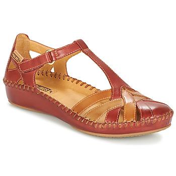 Topánky Ženy Sandále Pikolinos P. VALLARTA 655 Hnedá