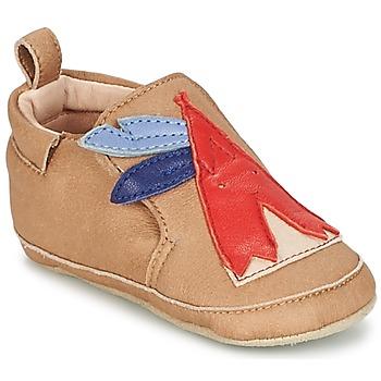Topánky Chlapci Detské papuče Shoo Pom CHOU TIPI Nugátová