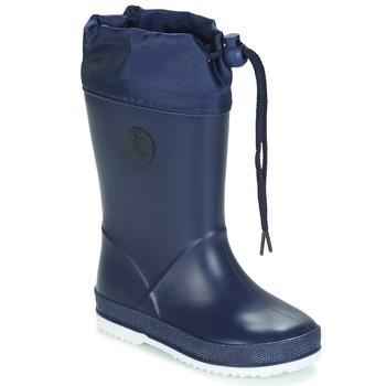 Topánky Deti Čižmy do dažďa Be Only ALEXA Námornícka modrá