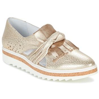 Topánky Ženy Mokasíny Regard RASTAFA Zlatá