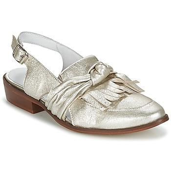 Topánky Ženy Mokasíny Regard RELABI Zlatá