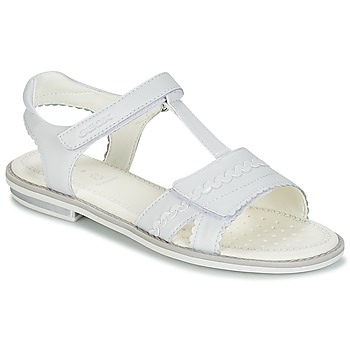 Topánky Dievčatá Sandále Geox J S.GIGLIO A Biela