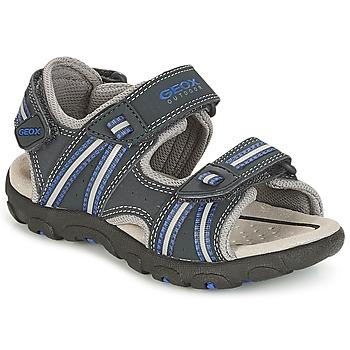 Topánky Chlapci Športové sandále Geox J S.STRADA A Námornícka modrá