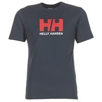 Oblečenie Muži Tričká s krátkym rukávom Helly Hansen HH LOGO Námornícka modrá