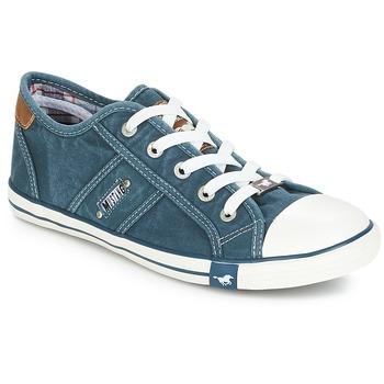 Topánky Ženy Nízke tenisky Mustang RUGARL Modrá