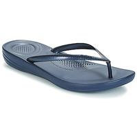 Topánky Ženy Žabky FitFlop IQUSHION ERGONOMIC FLIP-FLOPS Námornícka modrá