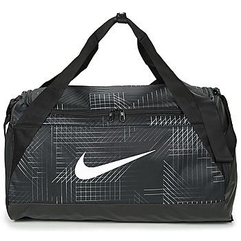 Tašky Športové tašky Nike BRASILIA SMALL Čierna / Biela