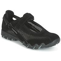 Topánky Ženy Športové sandále Allrounder by Mephisto NIRO Čierna