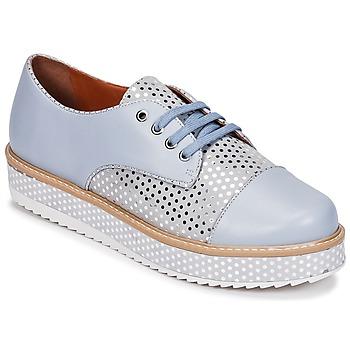 Topánky Ženy Derbie Cristofoli FILIPY Modrá