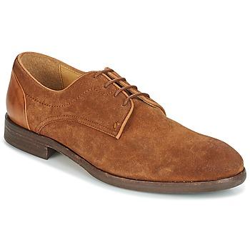 Topánky Muži Derbie Hudson DREKER Svetlá hnedá