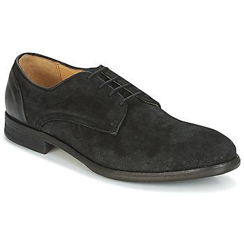 Topánky Muži Derbie Hudson DREKER Čierna