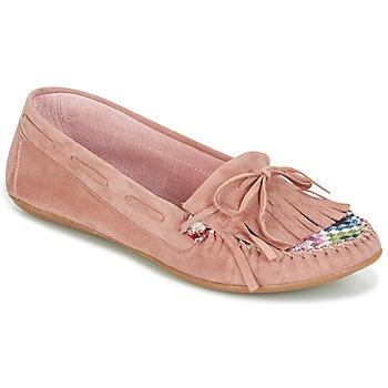 Topánky Ženy Mokasíny Ippon Vintage MOC-WAX-ROSE Ružová