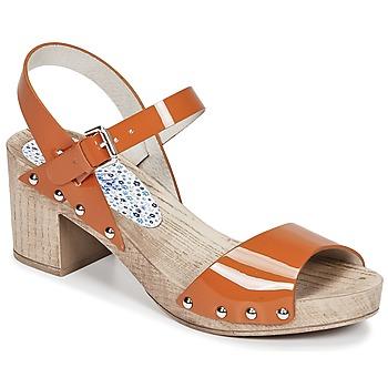 Topánky Ženy Sandále Ippon Vintage SOK COLORS Oranžová