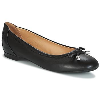 Topánky Ženy Balerínky a babies Geox LAMULAY Čierna